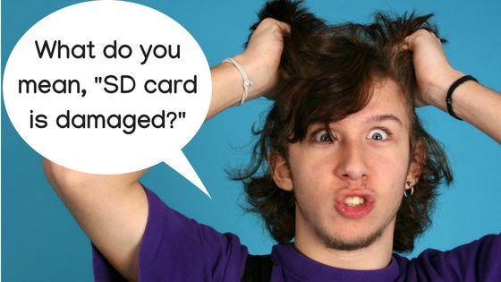 Cómo reparar su tarjeta Micro SD y recuperar los datos borrados