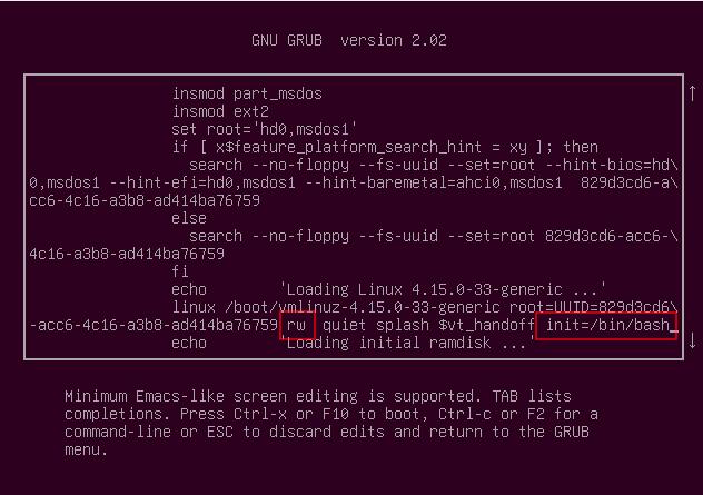 Cómo restablecer la contraseña raíz en Linux