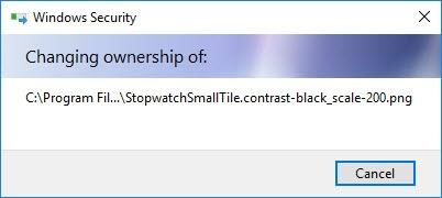 Cómo restaurar la propiedad de TrustedInstaller para los archivos del sistema en Windows 10