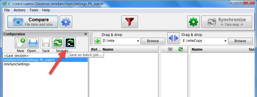 Cómo sincronizar archivos y carpetas utilizando FreeFileSync en Windows