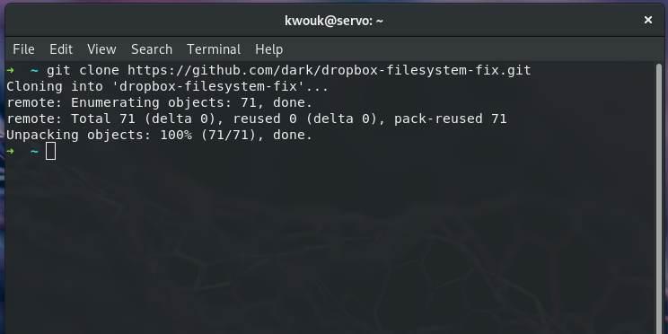 Cómo usar Dropbox en un sistema de archivos de Non-Ext4 Linux