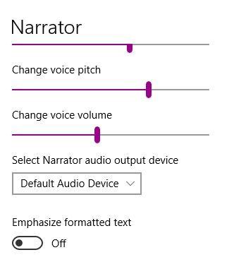 Cómo usar el Narrador de Windows para convertir su texto a voz