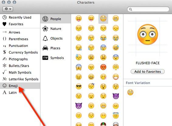 Cómo usar Emoji en Mac sin instalar aplicaciones adicionales