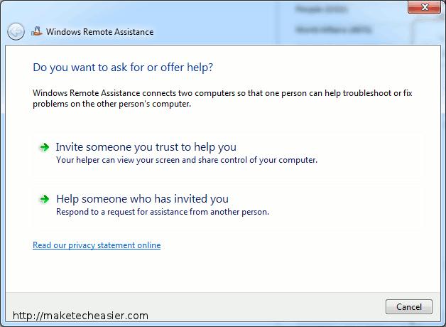 Cómo usar la asistencia remota integrada de Windows para proporcionar soporte virtual a sus amigos
