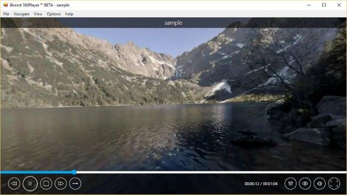 Cómo ver vídeos de 360 grados en Windows 10