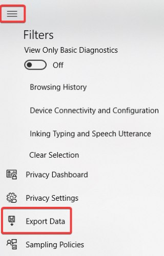 Cómo ver y eliminar datos de diagnóstico en Windows 10