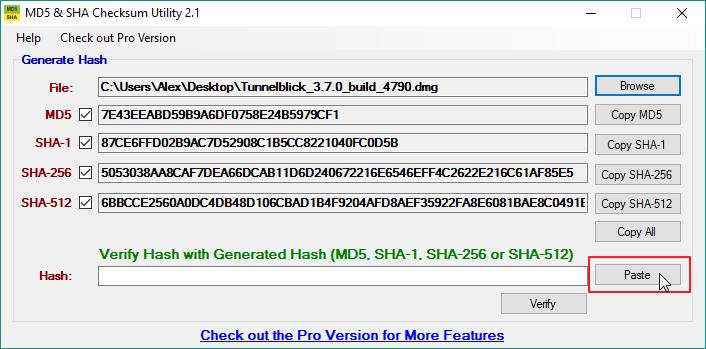Cómo verificar la suma de comprobación MD5, SHA-1 y SHA-256 en Windows 10