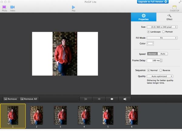Convierta fotos y vídeos en GIF con PicGIF para Mac
