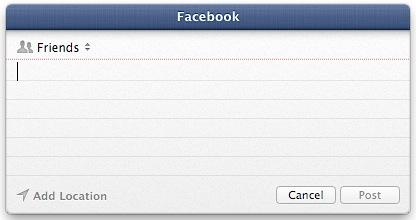Crear atajos de teclado para publicar en Twitter y Facebook con Eggy[Mac]