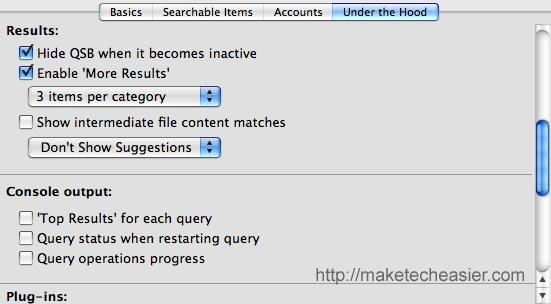 Cuadro de búsqueda rápida de Google: Una gran alternativa a Quicksilver