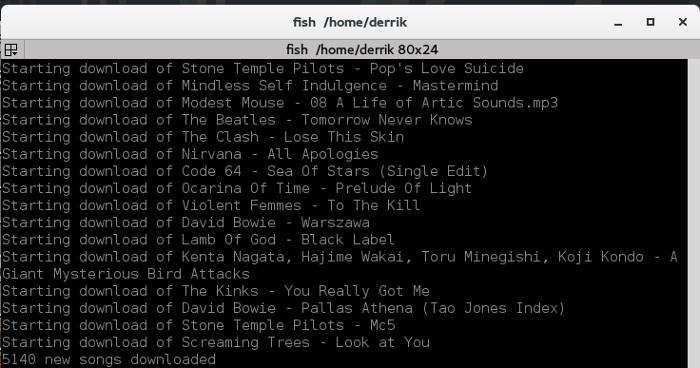 Descarga tu biblioteca musical de Google en Terminal con Gmpydl en Linux