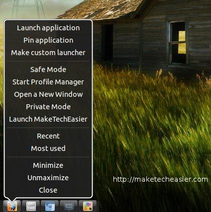 DockBarX: Una mejor alternativa al lanzador de Unity
