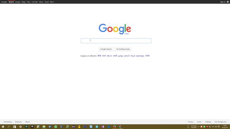 Establecer una página web como fondo de pantalla en Windows 10