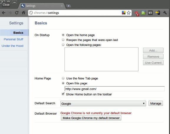 Google Chrome para Linux ahora viene con About:Labs Features[Noticias]