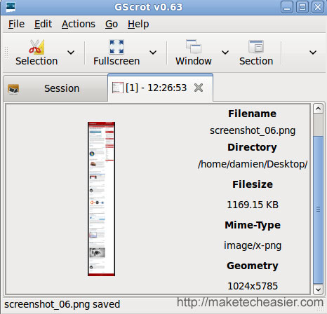 Gscrot: Una poderosa herramienta de captura de pantalla para Linux