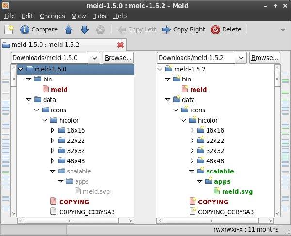 Herramientas de Comparación de Archivos (Diff) para Linux