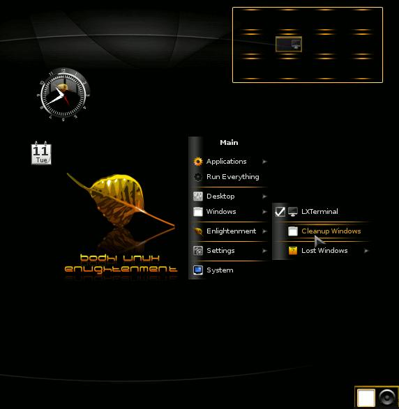 Iluminarse con Bodhi Linux