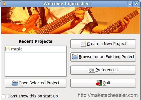 Jokosher - Una alternativa Linux para Garage band