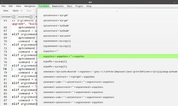 KKEdit: Un nuevo editor de texto para Linux