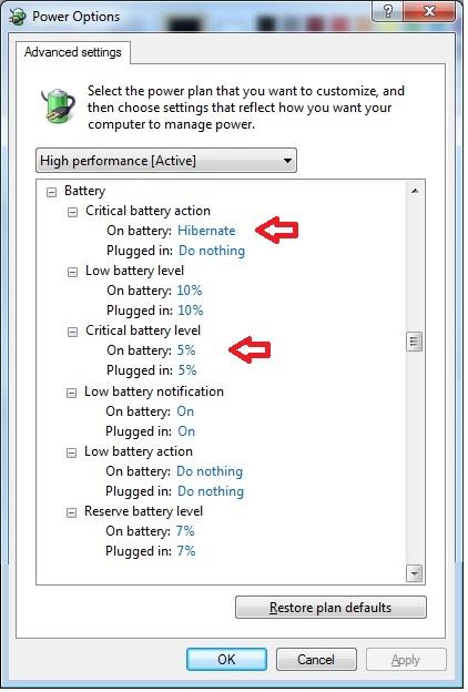 Lo que usted necesita saber sobre las baterías para portátiles en Windows