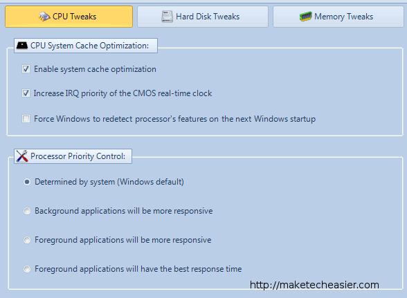 Mejore su rendimiento de Windows con Mz 7 Optimizier