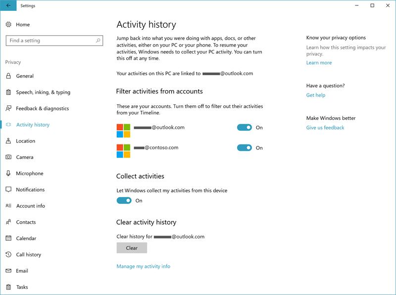 Microsoft finalmente introdujo la función de línea de tiempo de retardo prolongado