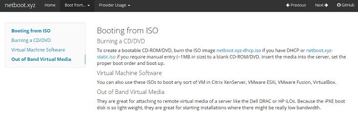 Netboot: Nunca más haga otro instalador de USB para Linux