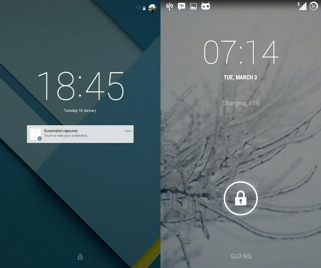 Nuevas características y cambios en Android Lollipop
