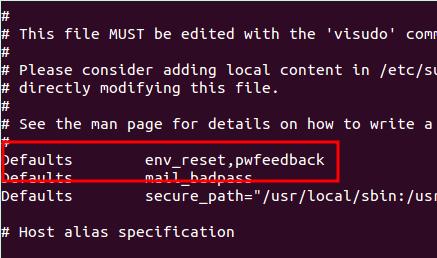 Obtener el terminal para mostrar asteriscos al escribir la contraseña