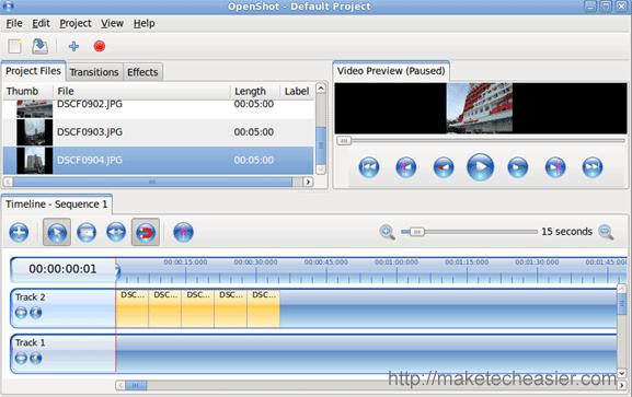 OpenShot: Un editor de vídeo fácil de usar para el usuario medio de Linux