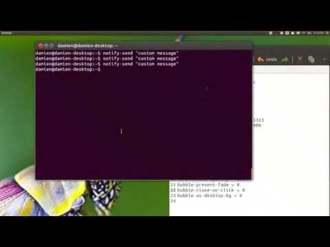 Personalizar la burbuja de notificación en Ubuntu 13.04 (usando NotifyOSD parcheado)