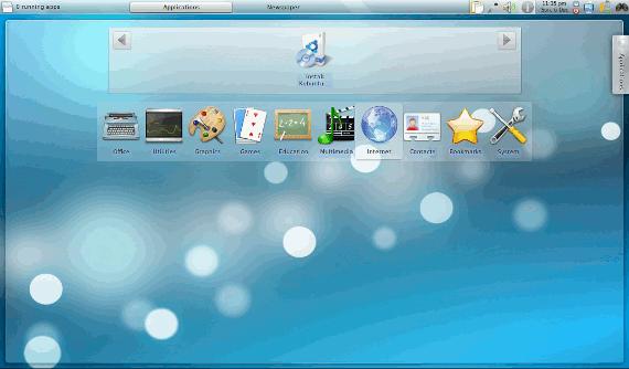 Previsualización del Netbook KDE Plasma