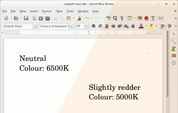 Proteja sus ojos de la tensión con Redshift en Linux