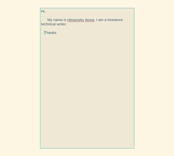 QuiEdit le ofrece una experiencia de escritura sin distracciones en Ubuntu
