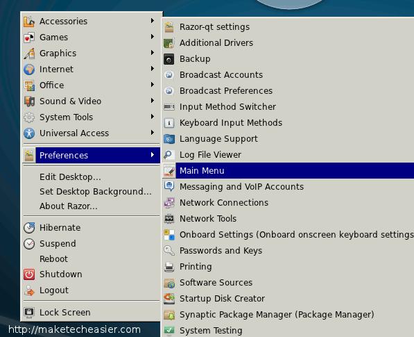 Razor-qt: Un nuevo gestor de escritorio ligero para Linux