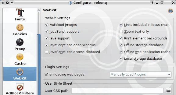 Rekonq: Un vistazo rápido a Kubuntu Siguiente navegador predeterminado