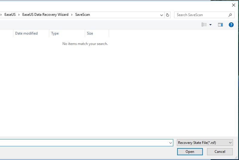 Restaure rápidamente los archivos eliminados con el software de recuperación de datos EaseUS