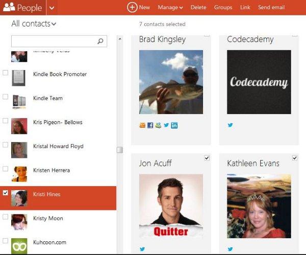 Revisión de Outlook.com: ¿Se apila en Gmail?