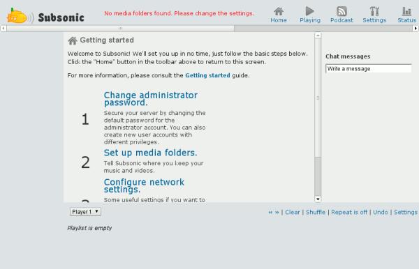 Subsónico: Transmita por secuencias su contenido multimedia desde cualquier lugar