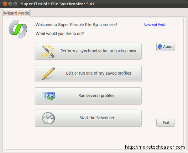 Super flexible sincronizador de archivos es una herramienta de copia de seguridad gratuita, con soporte para Google Docs[Linux]