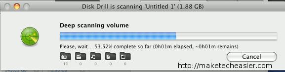 Taladro de disco: Herramienta gratuita de recuperación de datos para Mac