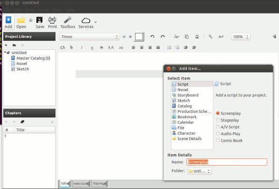 Tres aplicaciones útiles de escritura creativa para usuarios de Linux