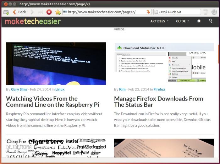 Tres navegadores web alternativos para Linux