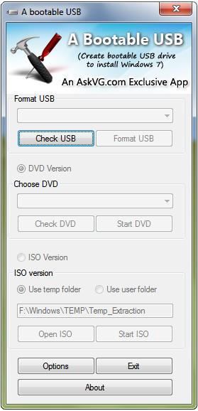 Una forma más de instalar Windows 7/Vista/Server 2008 desde una unidad USB