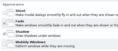 Una mirada a los efectos de escritorio de KDE