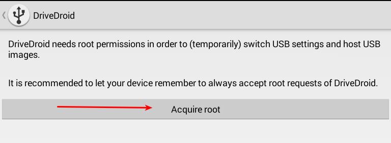 Use DriveDroid para instalar cualquier Distro de Linux de Android[se requiere raíz]