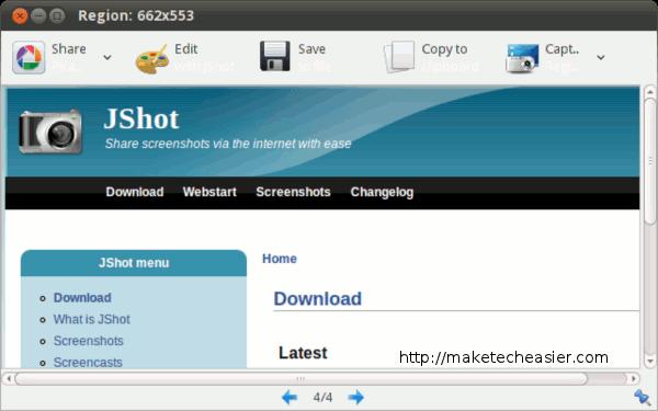Uso de JShot para todas sus necesidades de captura de pantalla