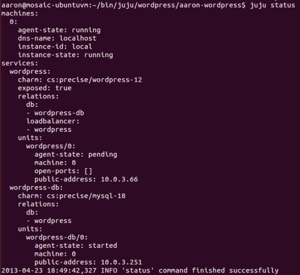 Uso de Juju Charms para desplegar fácilmente los servicios en Ubuntu