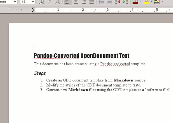 Utilice Pandoc para convertir fácilmente archivos de texto a formato PDF o eBook