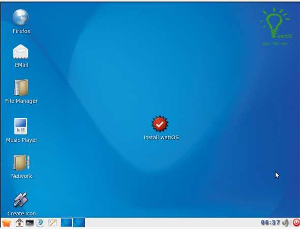 WattOS: Un Ubuntu ligero para tu viejo ordenador
